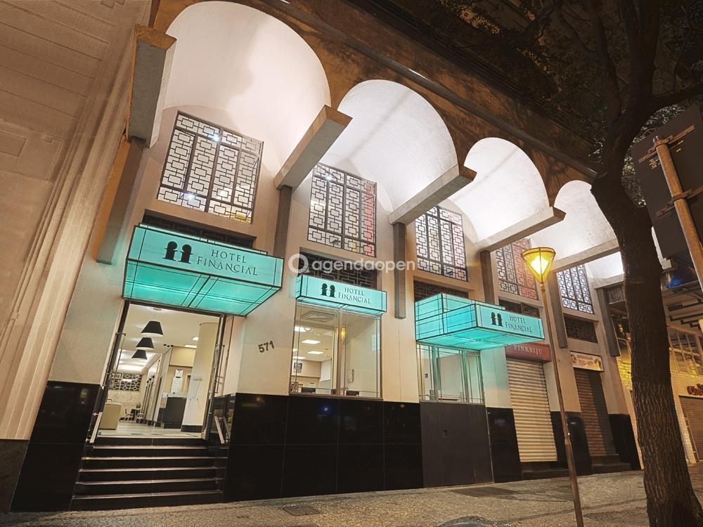 Hotel Financial localizado em Centro , Belo Horizonte tem 2 salas e espaços para Reunião e Evento. Alugue sala para reunião, palestra, workshop, apresentação, e muito mais!